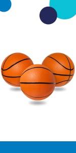 pvc mini hoop basketballs