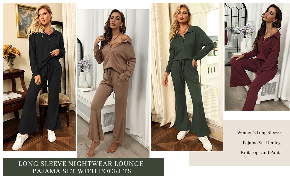lounge sets for women 2 piece
