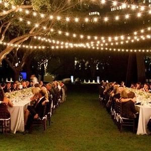 outdoor globe light strings