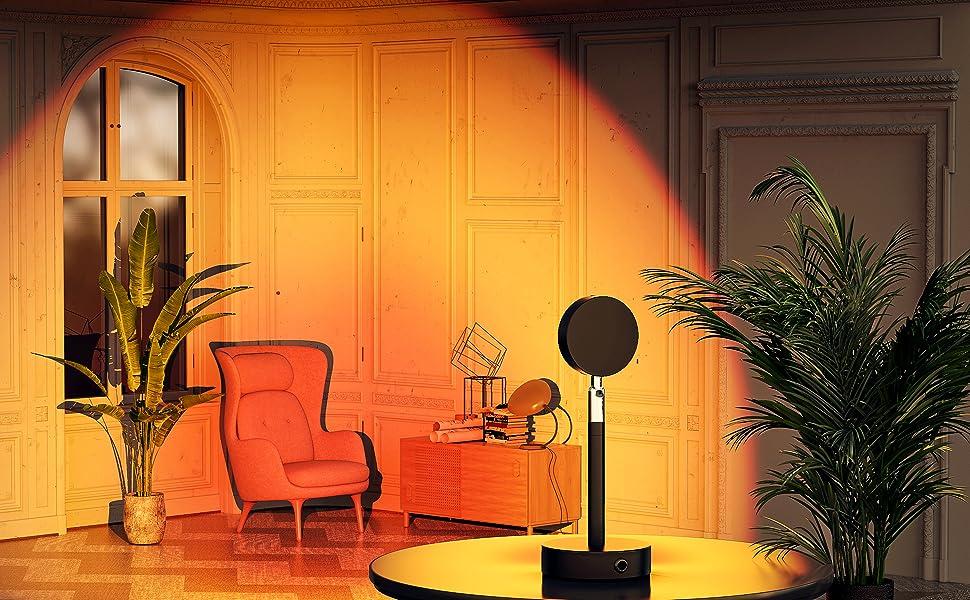Sunset Light Projection LED Night Light