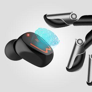 Vinlley Bluetooth-Kopfhörer,Eine Schlüsselsteuerung Befreie deine Hände und umarme die Freiheit