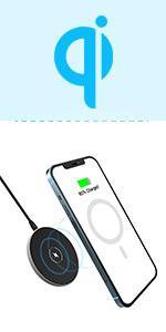 【A7】MagSafe対応 マグネティック ワイヤレス充電器
