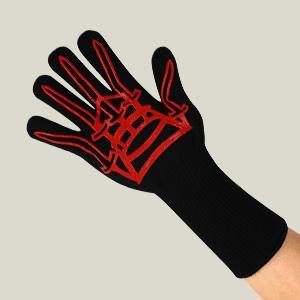 long cuff gloves
