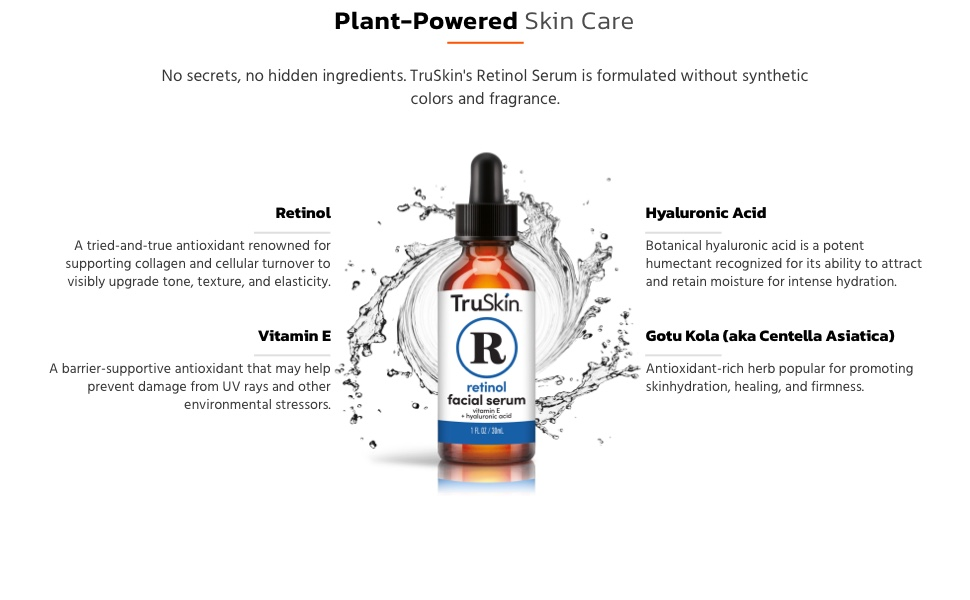 Retinol Serum Ingredients