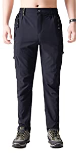 Tactical Assault Cargo Outdoor Athletic Quick Dry Hiking Hunting Pants with Zipper for Men