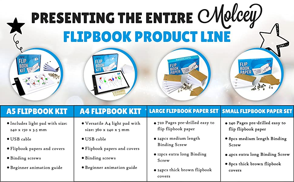 flip books for kids flipbook paper with holes lightbox for drawing and tracing