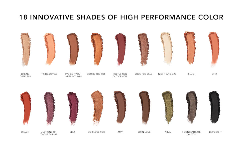 18 innovative nuancer med høj ydeevne farve