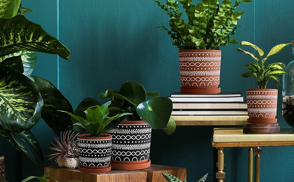 Multiple Usage Ceramic Flower Plant Pots