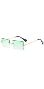 green tint glasses