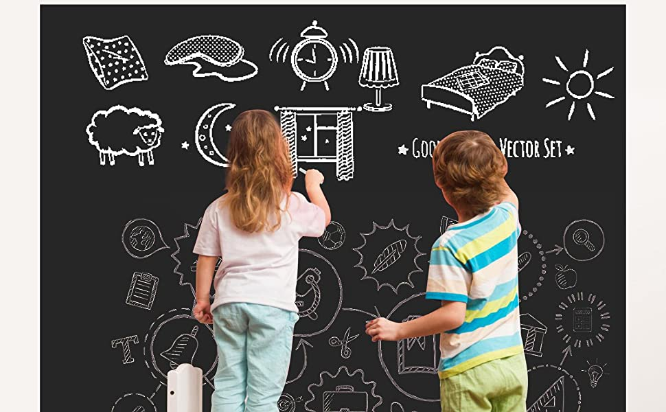 chalkboard wall stickers