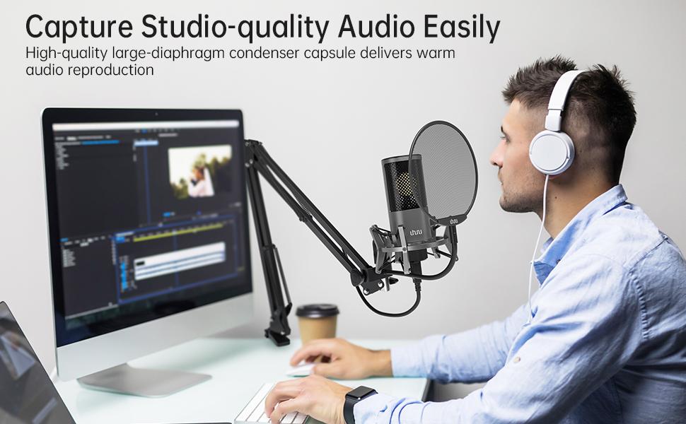 Capture Studio-quality Audio Easily