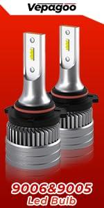 9006 9005 led headlight