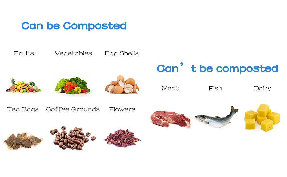 Can be composted