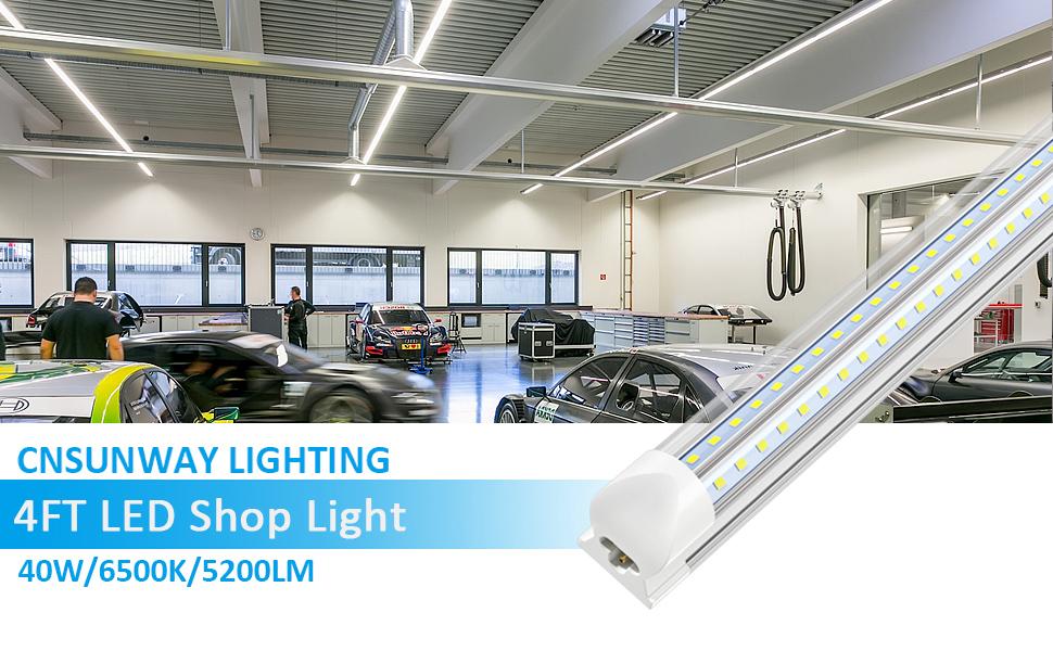 4FT LED SHOP LIGHT FIXTURE