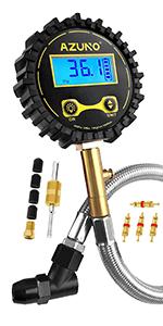 AZUNO Digital Tire Pressure Gauge