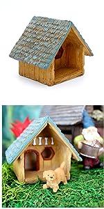 Fairy garden outdoor supplies indoor mini miniature accessories tools supply animal dog house home