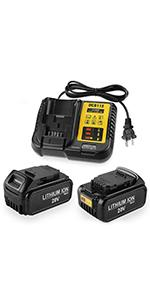 dewalt 20v battery and charger