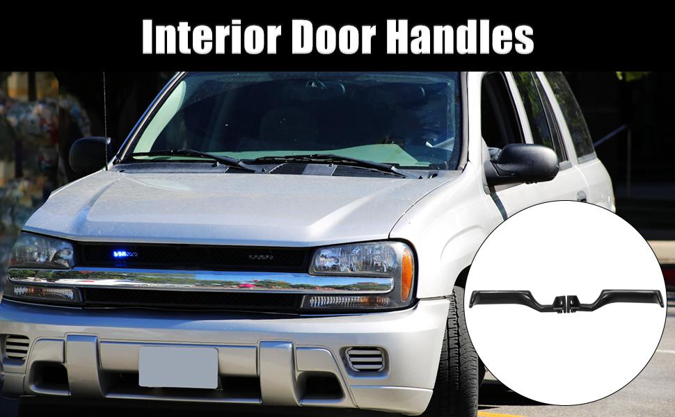 Door Handle Left Right Hand Black Front Inside