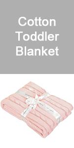 cotton toddler blanket