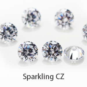 Sparkling Cubic Zirconia
