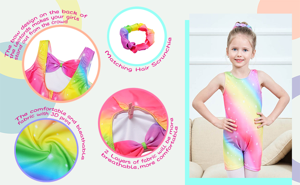The Outstanding features for our Leotards 1