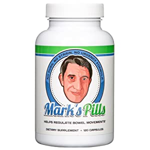 Mark's Pills provide gentle, predictable relief from constipation.