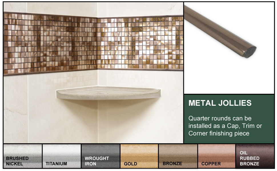 detailed liner image installed with color swatches of each finish
