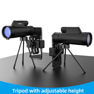monocular telescope for smartphone with tripod
