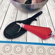 M23 small spatulas silicone spatula small spatula scraper