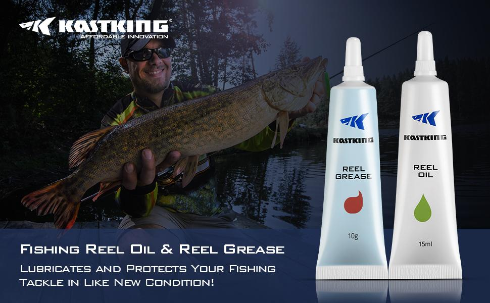 Fishing Reel Oil & Reel Grease
