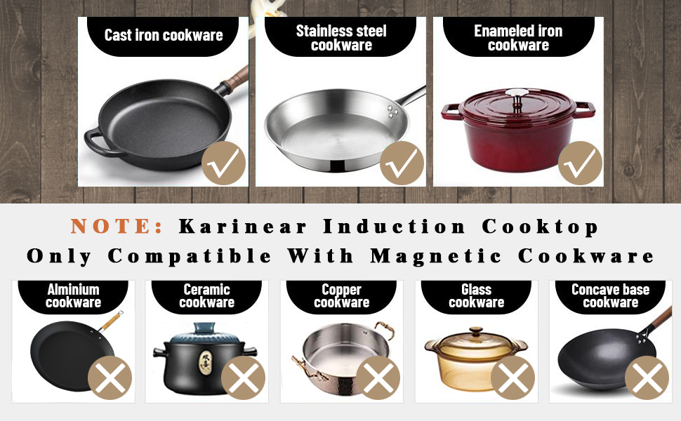 induction cooktop  cookware