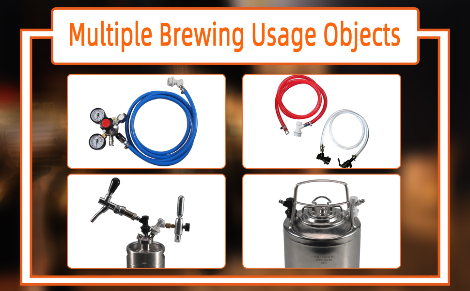 Multiple Brewing Usage Objects