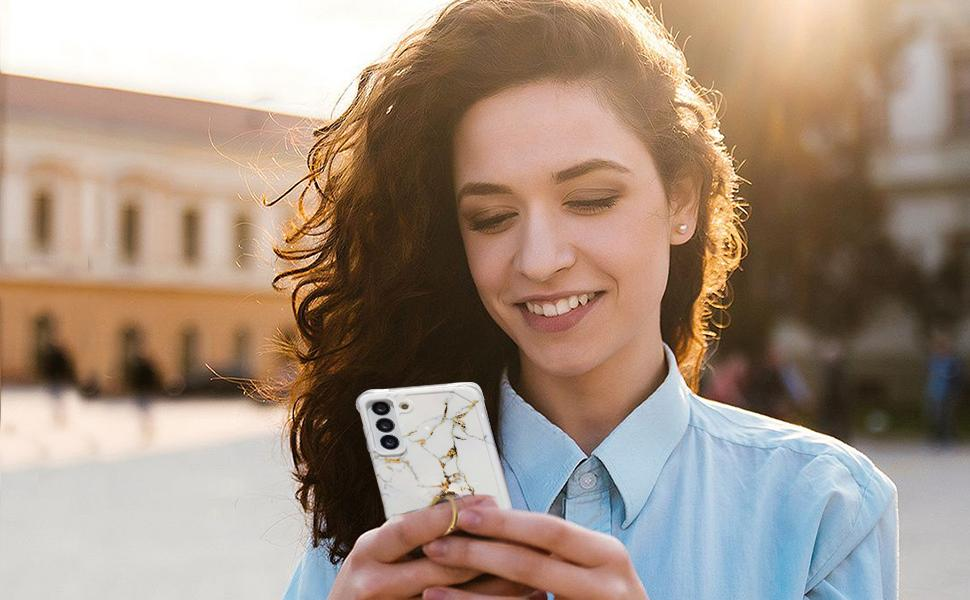 Anynve Samsung Galaxy S21 case 6.2 inch