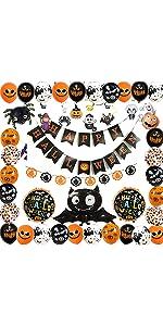 Halloween Balloons Set