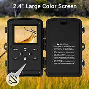 Trail Camera for Hunting with Night Vision Waterproof