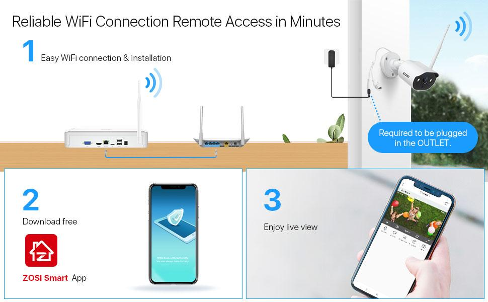 Reliable WiFi Connection