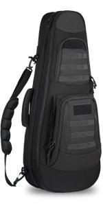 Double rifle bag case