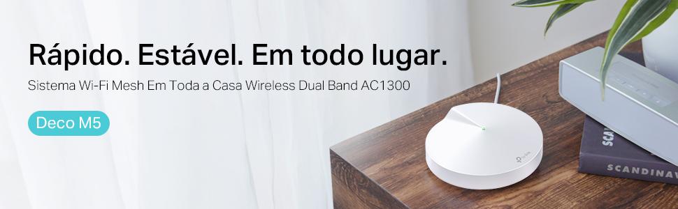 TP-Link Deco M5. Sistema Wi-Fi mesh em toda a casa