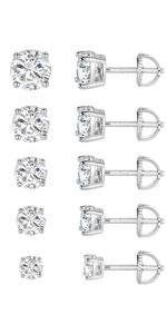 screw back earrings,stud earrings,earrings for women,earrings for men,cubic zirconia earrings