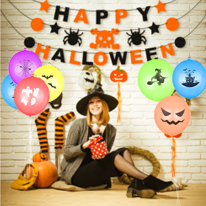 goody bag stuffers for kids,neon balloons,trick or treat bags,glow party supplies and decorations