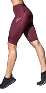 Women's CW-X Stabilyx Joint Support Compression Short