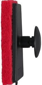 Star brite Red Medium Scrubber With Handle