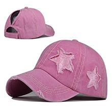 pink star hat