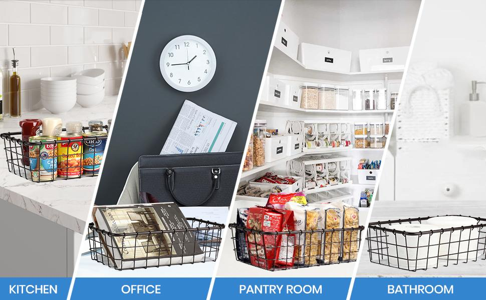 pantry baskets 2 pack