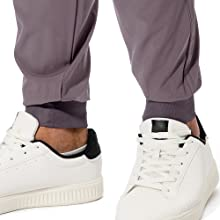 mens jogger pants with tapered cuff