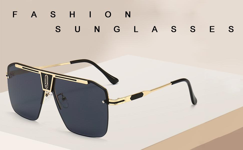 fashion dita sunglasses oversized flat top