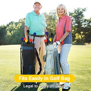Fits Easily in Golf Bag