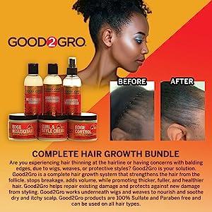 Regrow edges, edge control, edge smoother, edge tamer, hair gel, hair styling natural edge control