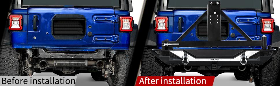 jeep wrangler JL bumper