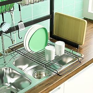 roll up dish drying rack cutting board organizer chopping board rack dish rack